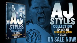 DVDx4 The Essential AJ Styles Collection  Full Show Free ( Reupload )