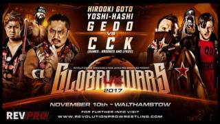 RPW vs NJPW Global Wars UK Day 2