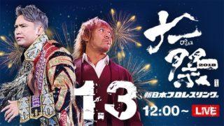 NJPW Large pro-wrestling festival 2018