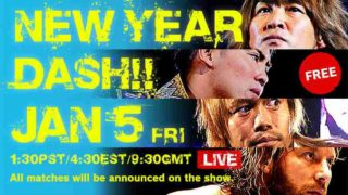 NJPW New Year Dash Tokyo 1/5/18
