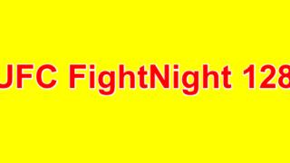UFC FightNight 128 Barboza Vs Lee 4/21/2018