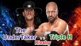 Undertaker Vs Triple H Rivalries All Matches DvD