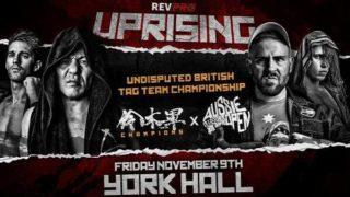 RevPro Wrestling Uprising 2018.11.09