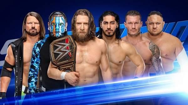 WWE Smackdown Live 2019-02-12 HDTV [720p-480p] English x264 AAC