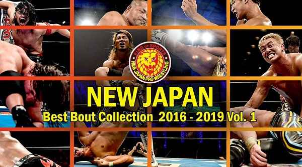 Watch NJPW Best Bout collection 2016 to 2019 Volume 1 Online Full Show Free