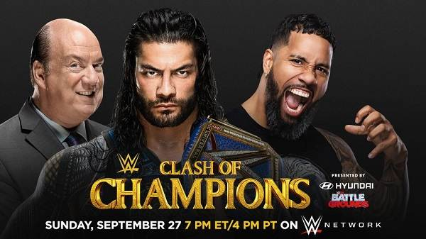 WWE Clash Of Champions 2020 PPV 9/27/20