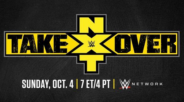 WWE NXT TakeOver 31 10/4/20