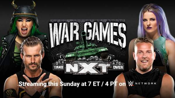 WWE NxT TakeOver : Wargames 2020 12/6/20 – 6th December 2020 Full Show