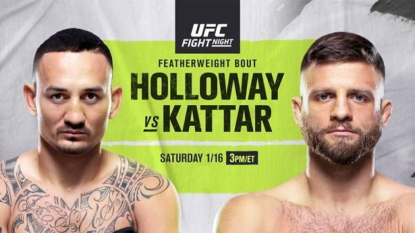 Watch UFC on ABC: Holloway vs. Kattar 1/16/21 Full Show Online
