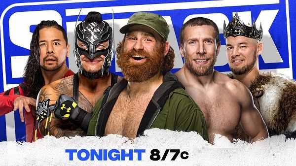 WWE Smackdown Live 1/8/21