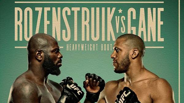 UFC Fight Night: Rozenstruik vs. Gane 2/27/21
