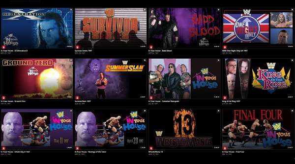 Watch WWE PPVs 1997 Online Full Year Shows Free Collection