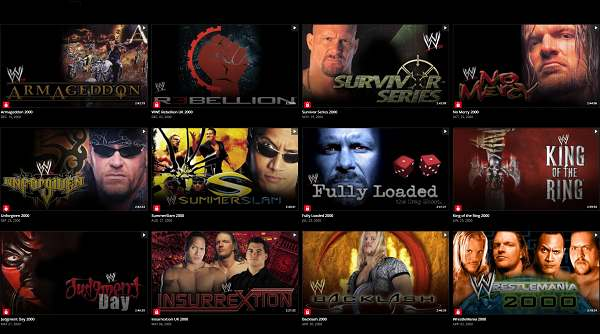 WWE PPVs 2000 Collection