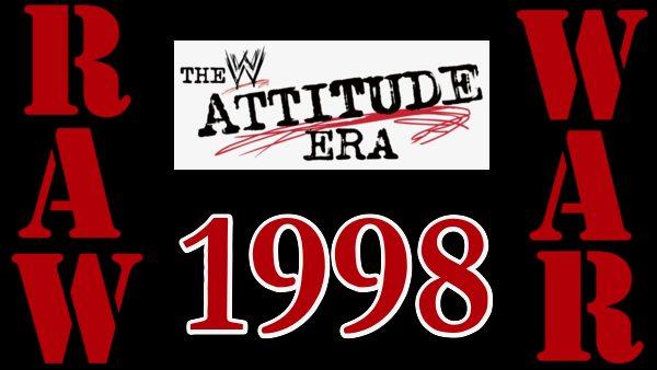 WWF Raw Is War 1998 Attitude Era