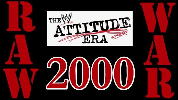 WWF Raw Is War 2000 Attitude Era