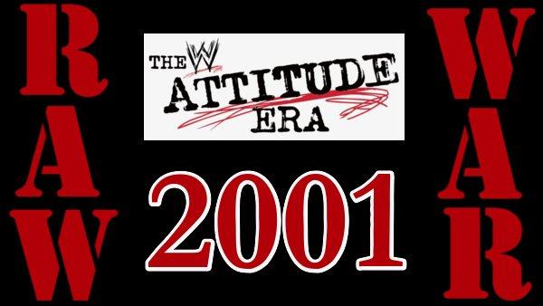WWF Raw Is War 2001 Attitude Era