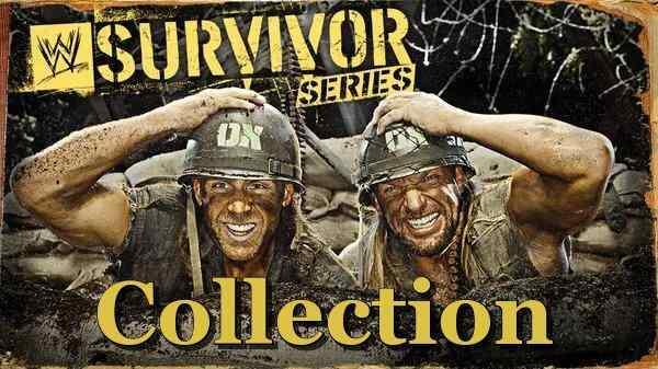 WWF Survivor Series Collection 1987 to 2020