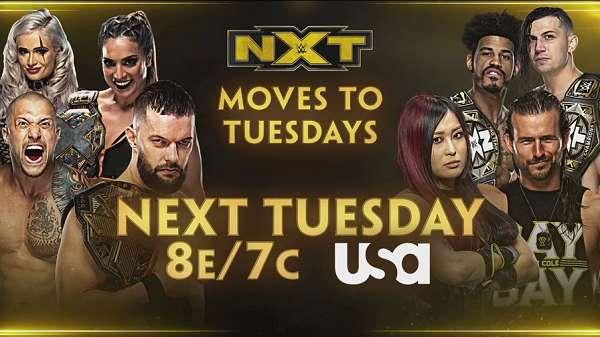 WWE NxT Live 4/13/21