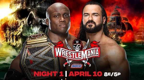 WrestleMania 37 Night 1 PPV 4/10/21