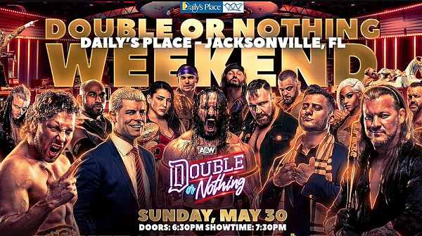 Watch AEW Double Or Nothing 2021 PPV 5/30/21