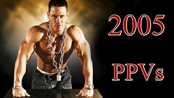 WWE PPVs 2005