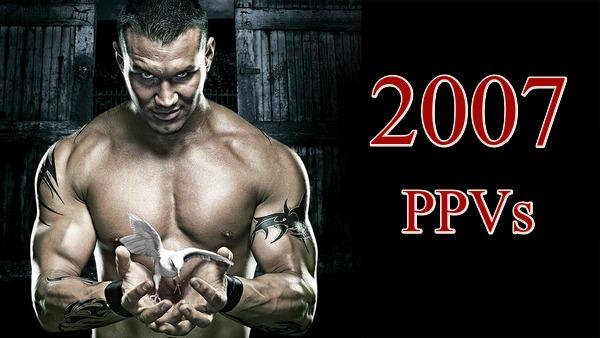 WWE PPVs 2007