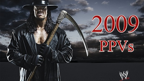 WWE PPVs 2009 Collection