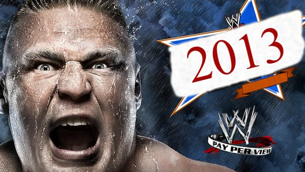 WWE PPVs 2013 Collection
