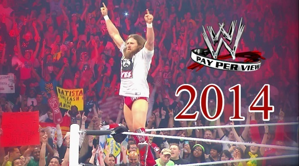 WWE PPVs 2014 Collection