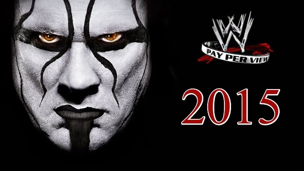 WWE PPVs 2015 Collection