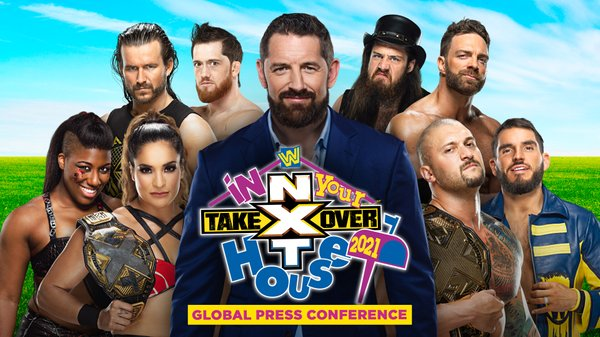 Watch NXT TakeOver In Your House Global Press Conference Online Full Show Free