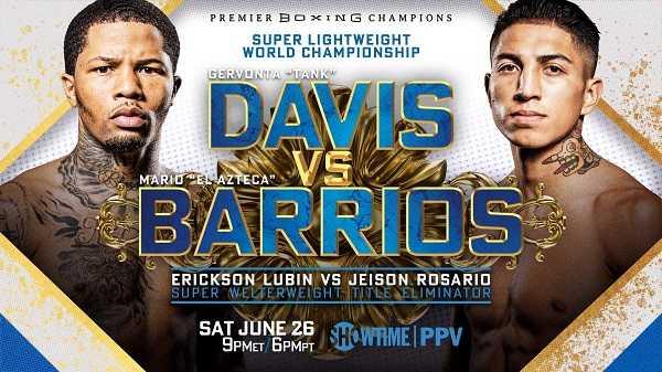 Davis vs. Barrios Showtime PPV 6/26/21