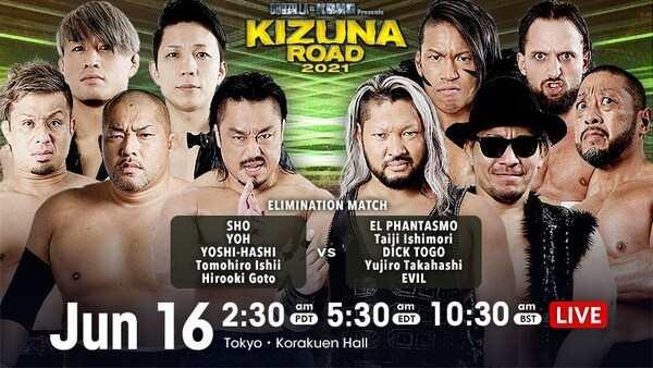 NJPW Kizuna Road 2021 5/16/21