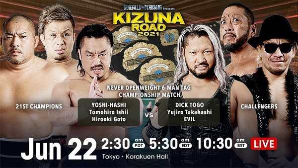 Watch NJPW Kizuna Road 2021 5/22/21 22nd June 2021 Online Full Show Free