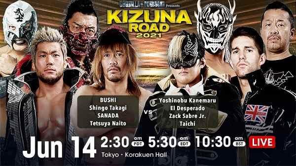 NJPW Kizuna Road 2021 6/14/21