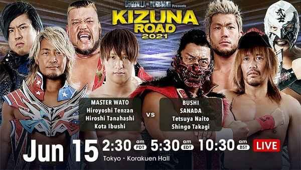 NJPW Kizuna Road 2021 6/15/21