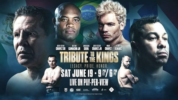 Tribute to the Kings: Chavez Jr. vs Anderson Silva 6/19/21