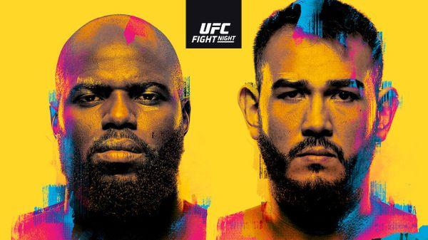 UFC FN: Rozenstruik vs. Sakai 6/5/21