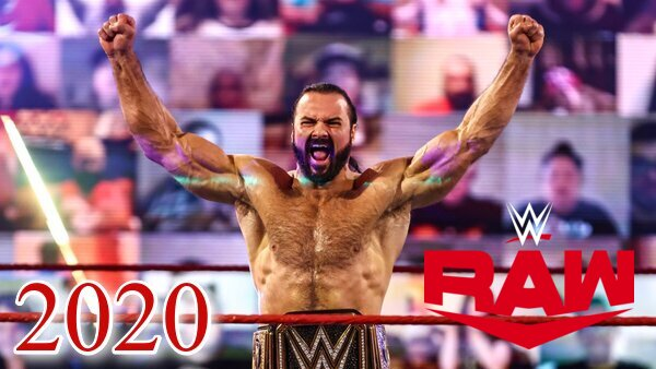 WWE Raw 2020 Collection