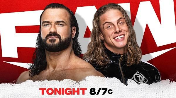WWE Raw 6/21/21