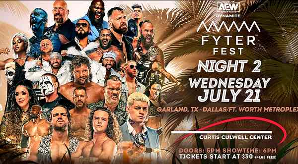 AEW Fyter Fest Night 2 7/21/21