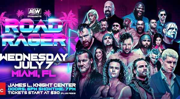 AEW Road Ragers 7/7/21