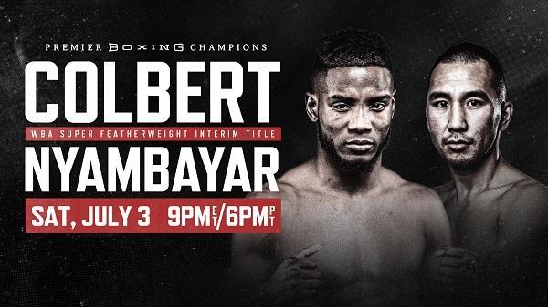 COLBERT VS. NYAMBAYAR 7/3/21  3rd July 2021