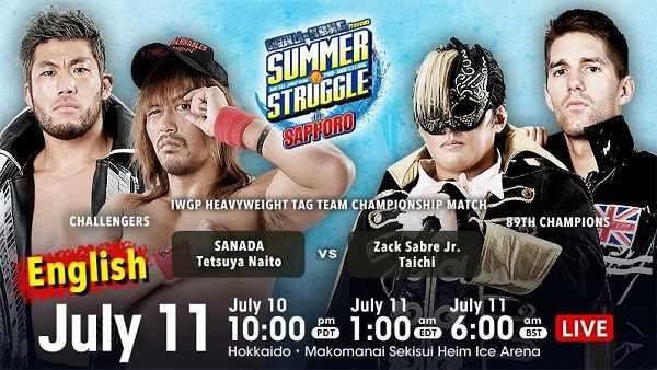 NJPW Summer Struggle In Sapporo 2021 10th July