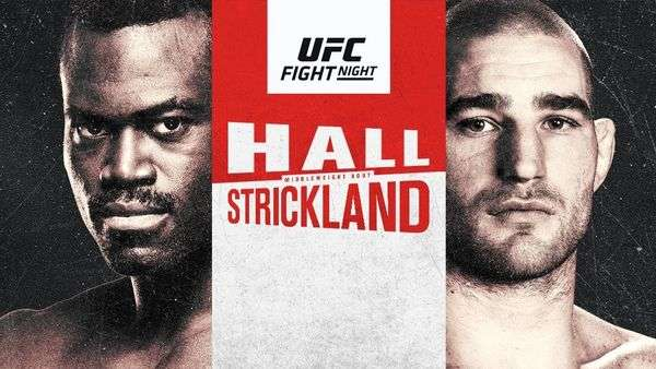 Watch UFC Fight Night: Hall vs. Strickland 7/31/21 – 31 July 2021 Full Show