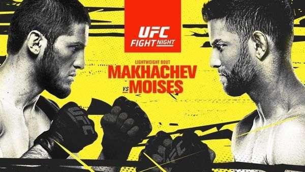 Watch UFC Fight Night: Makhachev vs. Moises 7/17/21 – 17 July 2021 Full Show