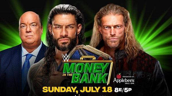 WWE Money In The Bank 2021 PPV 7/18/21
