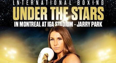 Boxing Under The Stars: Kim Clavel vs Maria Soledad Vargas 8/28/21