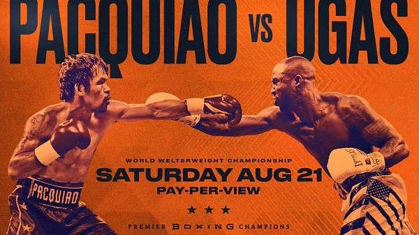 Premier Boxing : Pacquiao v Ugas 8/21/21