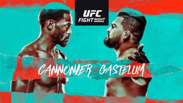 UFCVegas34: Cannonier vs. Gastelum Full Fight Replay